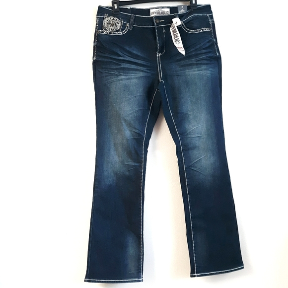 "Hydraulic embellished ""Bailey"" jeans"